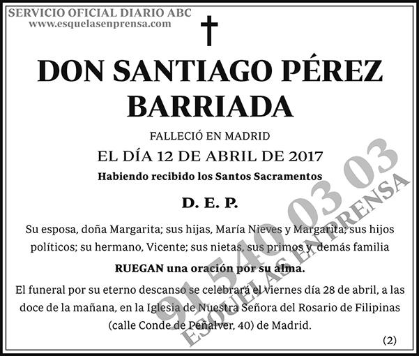 Santiago Pérez Barriada